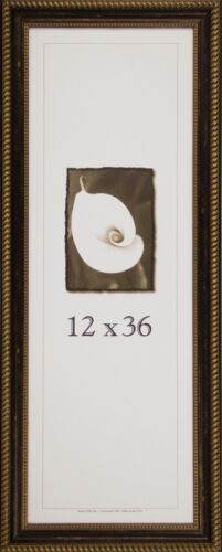 Wood Picture Frame Napoleon Series 12x36