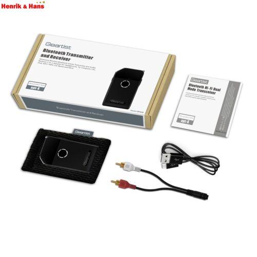 Rii Geartist RT419 Bluetooth Audio Sender /& Empfänger Transmitter Receiver apt-X