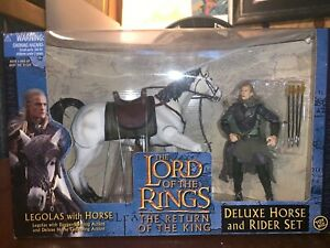 The-Lord-Of-The-Rings-The-Return-Of-The-King-Delux-Horse-and-Rider-Set-Legolas