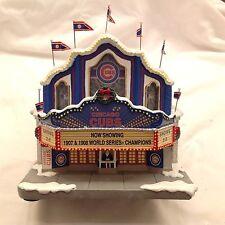 Chicago Cubs Christmas Movie Theatre Hawthorne Village NIB. Rare