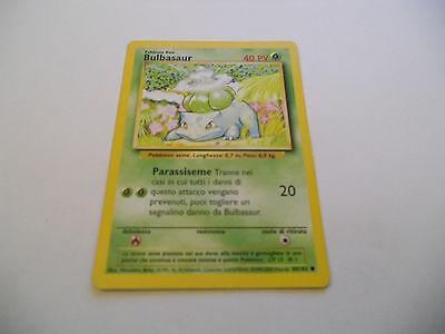 1x TCG Bulbasaur-Set Base-44//102-ING-ITA x1 POKEMON CARDS