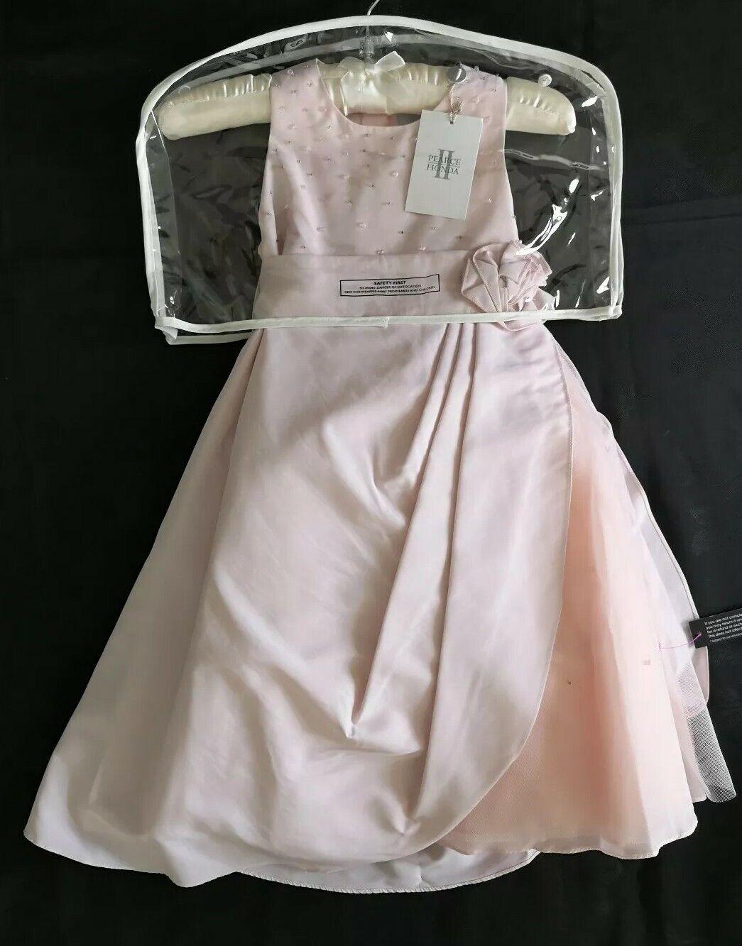 NEW Girls Pearce Fionda Pink Bridesmaid Flower Girl Formal Dress 3 Years RRP