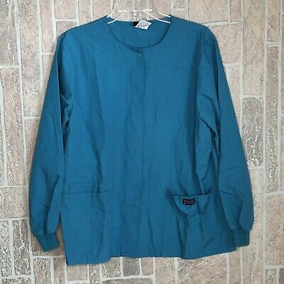 Cherokee Workwear Scrubs Women/'s V Neck Scrub Top 4746 Turquoise TRQW Cherokee