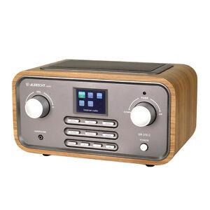 Albrecht-DR316-C-Holzgehaeuse-Internet-Digital-Radio-UKW-DAB-WLAN-MP3-Hybridradio