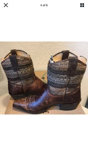 Details about  /NEW Roper Vintage Distressed Sweater Shorty Snip Toe Boot 09-021-7622-0788