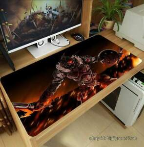 Anime-Duende-Slayer-grandes-Alfombrilla-De-Raton-Gaming-Keyboard-Mat-Mouse-Pad-70x40cm