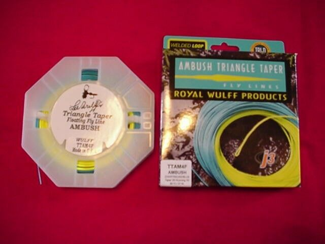 Royal Wulff Fly Line Ambush Floating Triangle Taper 2 Tone  6 GREAT NEW