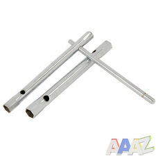2PC Deep Box Tubular Spanner Wrench Set With T-Bar 9mm 11mm 12mm & 13mm