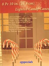 Outdoor Candy Cane Lights Outdoor christmas lights led candy cane pathway stakes set of 5 app item 1 set of 8 christmas candy cane stakespathway lights 117 ft long 10 high set of 8 christmas candy cane stakespathway lights 117 ft long 10 workwithnaturefo