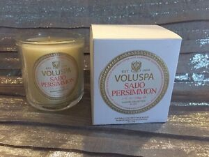 Image Is Loading Voluspa Saijo Persimmon Natural Coconut Wax Blend Hand