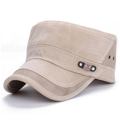Mens Military Army Cadet Patrol Castro Cap Summer Gym Camouflage Baseball Hats