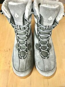 VASQUE-7805-POW-POW-UltraDry-Waterproof-Winter-Hiking-Snow-Boots-Women-039-s-8-Gray