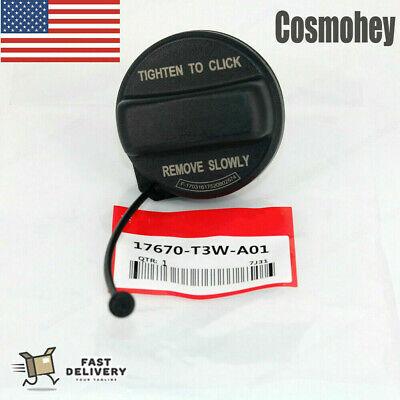 17670-T3W-A01 Fuel Filler Cap for Honda Accord Civic Crosstour CR-V Fit HR-V Insight Odyssey Pilot/Replaces 17670TR0A01 17670TR0A11/Fuel Tank Gas Cap Assembly