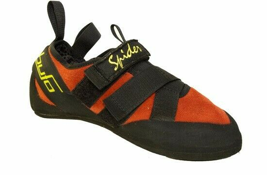 BUFO SPIDER ROCK CLIMBING scarpe uomo 8.5 rosso AND nero LIKE NEW