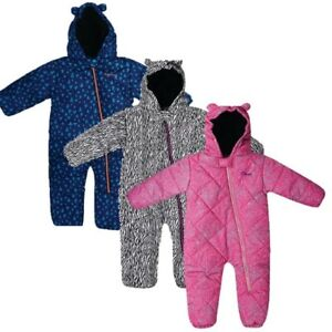 f7811319d552 DARE 2B BREAK THE ICE PADDED INSULATED KIDS SNOW SUIT PINK BLUE or ...