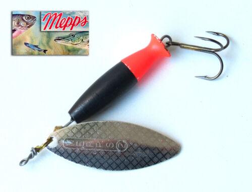 Mepps fishing spoon Aglia Long Cast Silver Black Red T2 60 mm 18 grs