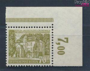 Berlin-West-123-Eckrandstueck-postfrisch-1954-Berliner-Bauten-7529988