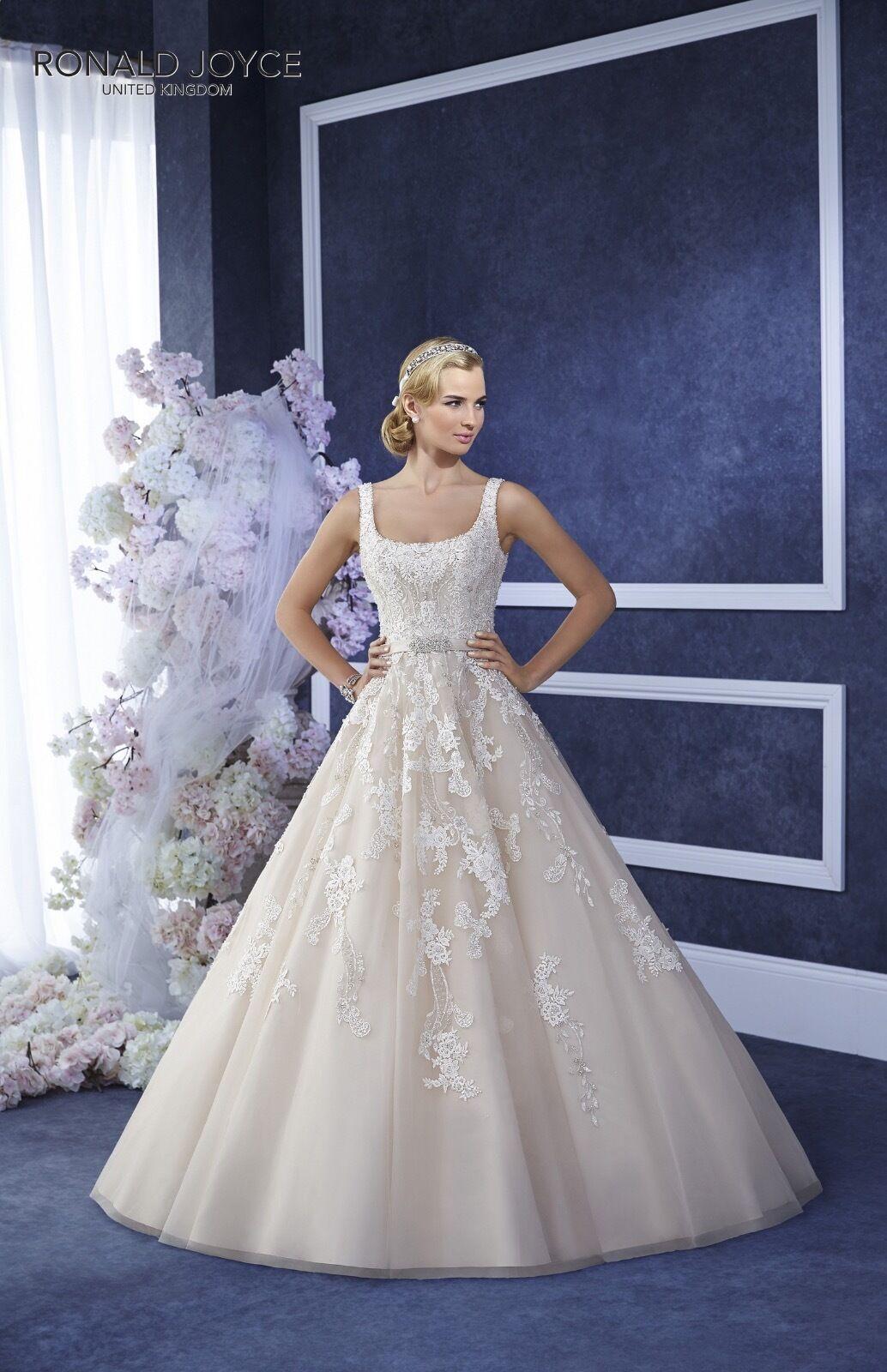 Wedding Dress by Ronald Joyce: Design ELODIE
