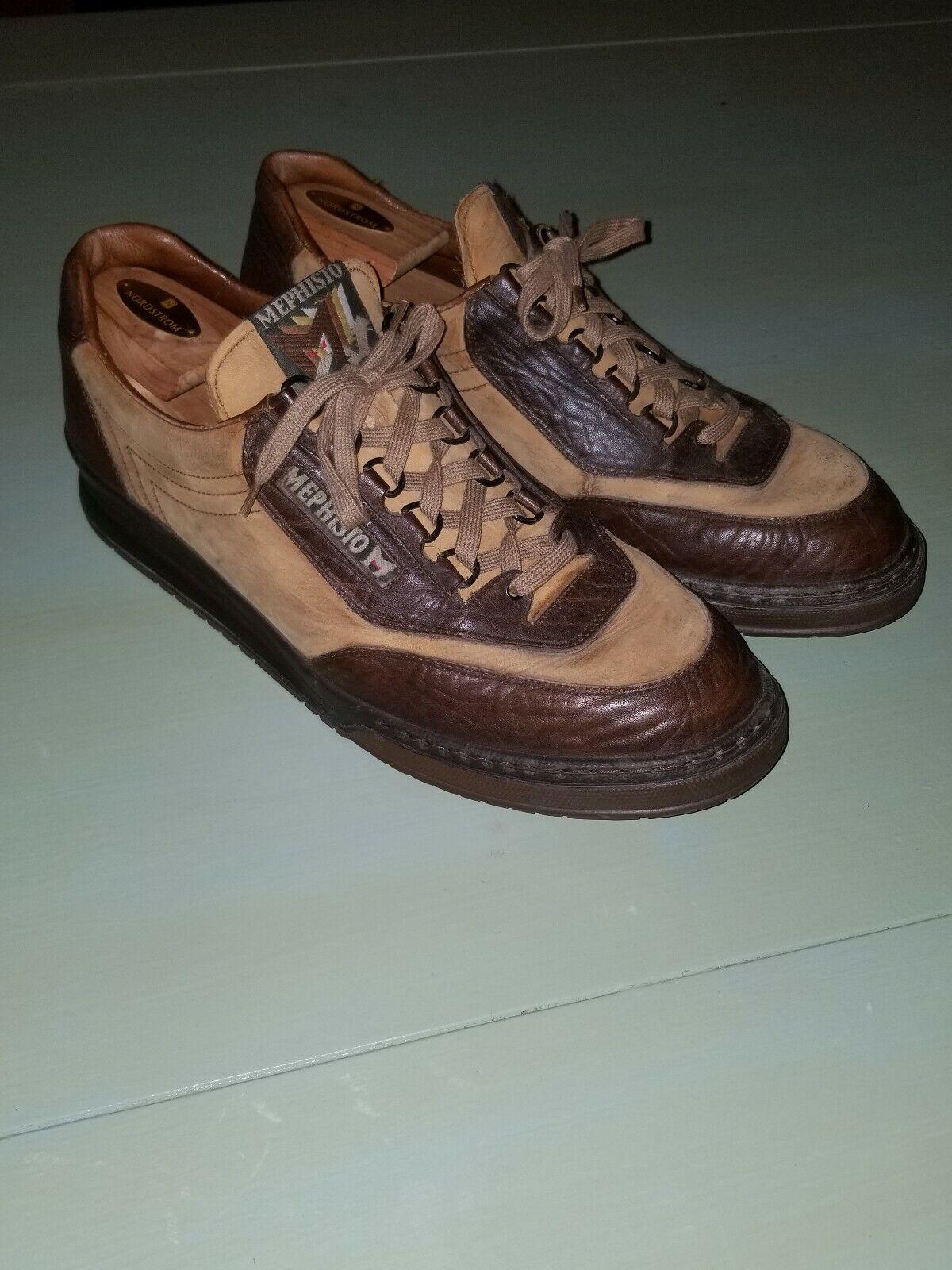 Mephisto Men's Suede scarpe Dimensione US 12