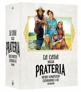 La-Casa-Nella-Prateria-Serie-Completa-Stagioni-1-8-Cofanetto-49-Dvd-Nuovo