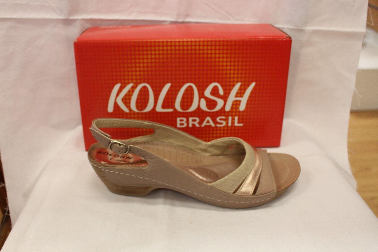 03978cddc59 LADIES SHOES FOOTWEAR sandal beige -Kolosh L3872 ntutpt5741-Women's ...