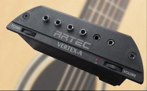 jack ARTEC VERTEX-A ACTIVE Neodymium Stack Soundhole pickup