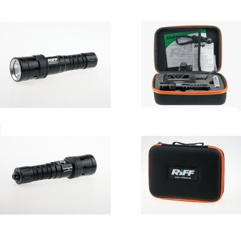 Riff TL Zoom - Tauchlampe mit Spot- und Weitwinkellicht