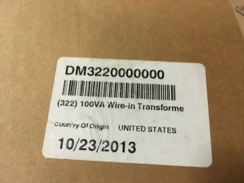 DMP 322-56 VA Wire-In Transformer for XR Series Panels