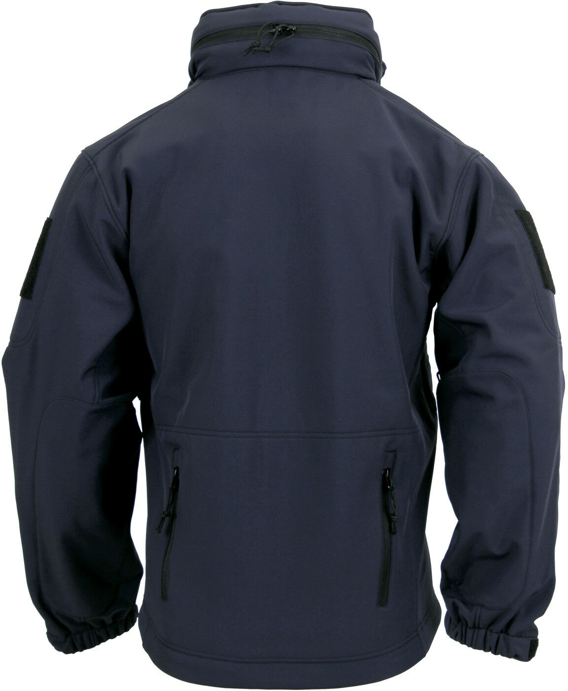 Navy Blue Waterproof Police Tactical Concealed Carry Soft Shell Jacket 56385
