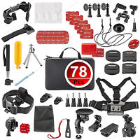 Accessories Pack Case Head Chest Monopod Bike Surf Mount For Gopro Hero 4 3+ 3 2