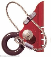 Tree Climbers Ascender,capacity 7/16 To 5/8,red Anodized Aluminum,made U.s.a