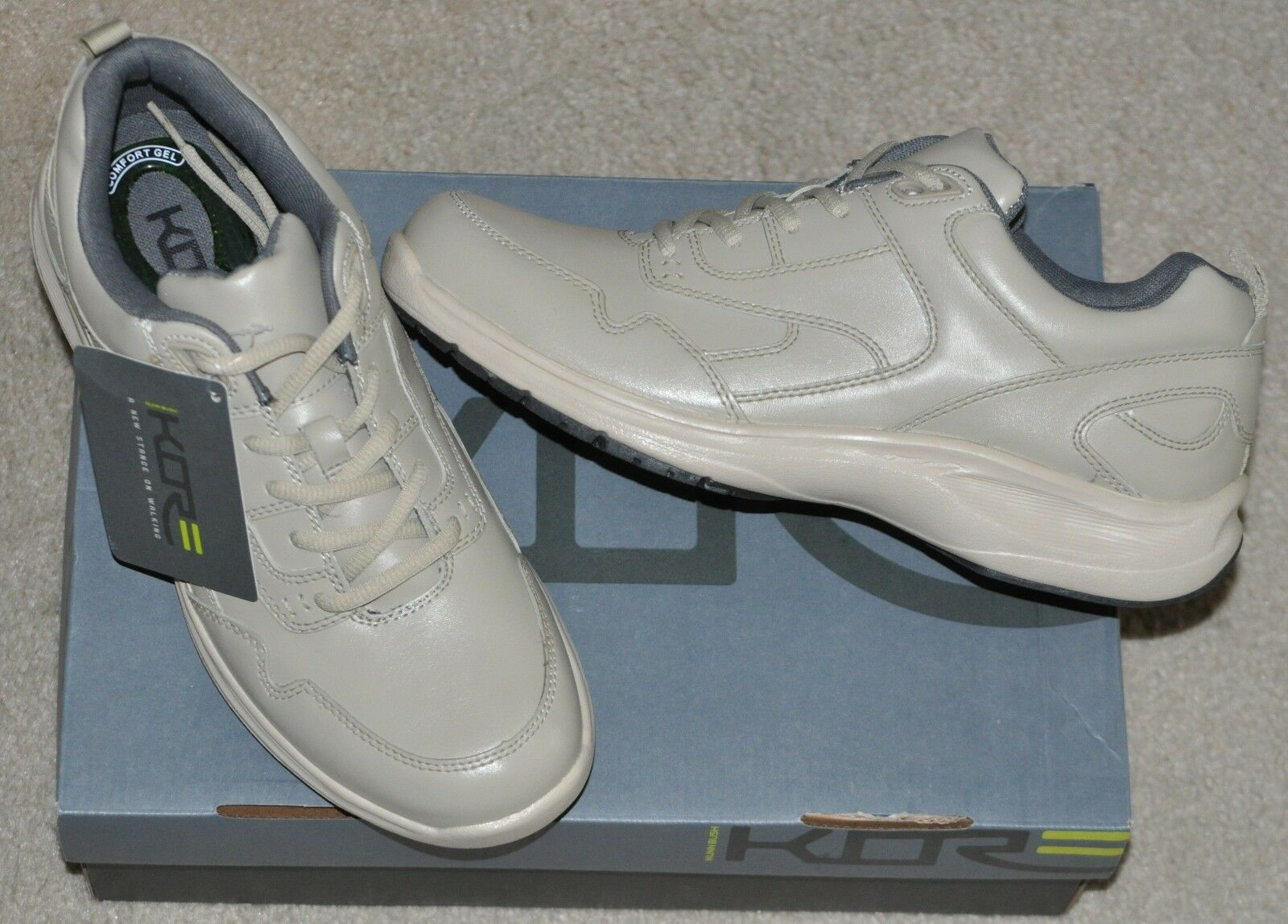 Nunn Bush Prosper Leather Walking shoes Brand New in Original Box Sz 10.5