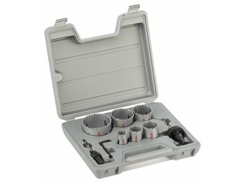 Bosch 9tlg. Lochsägen-Set HSS-Bimetall   Sale Online    Gute Qualität    Zahlreiche In Vielfalt    Online einkaufen
