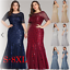 Ever-pretty-US-Plus-Size-Women-Short-Sleeve-Evening-Gowns-Bridesmaid-Party-Dress thumbnail 1