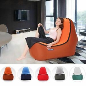 Admirable Details About Indoor Outdoor Hangout Inflatable Air Lounge Sofa Chair Living Room Bean Bag L Gmtry Best Dining Table And Chair Ideas Images Gmtryco