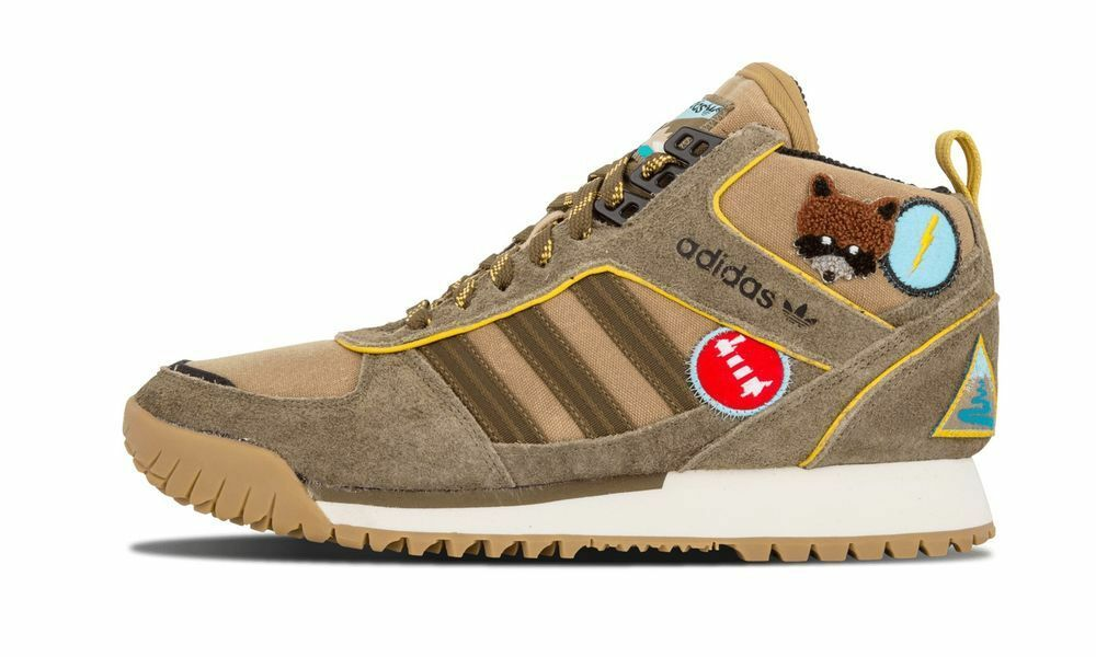 Adidas Originals ZX TR Mid Extra Butter Scout Leader chaussures D69375 New