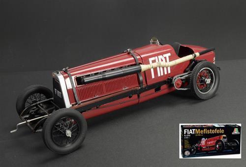 Fiat Mefistofele 1924 Record Velocita 230 230 230 Km/H E.Eldrige Kit 1:12 Italeri IT4701 | Outlet  acfd32