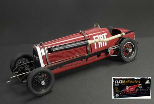 Fiat Mefistofele 1924 Record Velocita 230 Km/H E.Eldrige Kit 1:12 Italeri IT4701