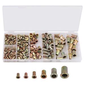 220Pcs-Rivet-Nuts-Blind-Rivet-Rivet-Assortment-Set-M3-M10-SIZE-5-6-7-9-11-12-MM