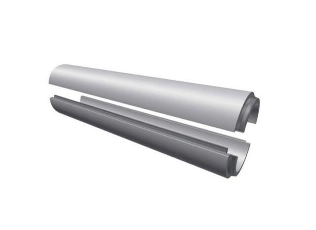 Lüftungsrohr DN150 isoliert wärmegedämmt 30 mm Zuluft Abluft bei Wohnraumlüftung