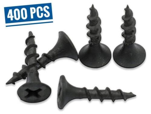 Black Sharp Point 3//4 Inch #6 Coarse Thread Drywall Screw #2 Bugle Head...