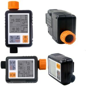IP65 LCD Garden Portable Irrigation Watering Timer 10-meter Pipe + 5/10 Nozzles