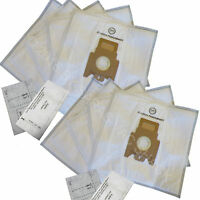 10 Allergen Bags For Miele Fjm Vacuum Cleaner Bag + 4 Filters
