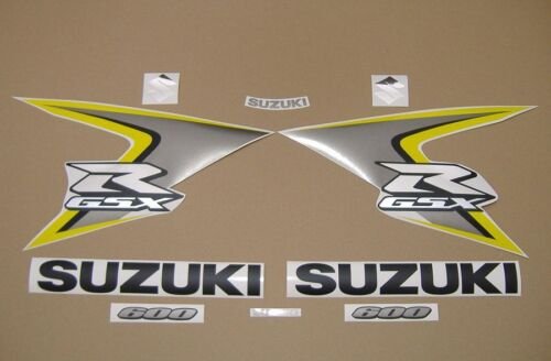 GSX-R 600 2008 full decals stickers graphics kit set k8 motorcycle наклейки logo