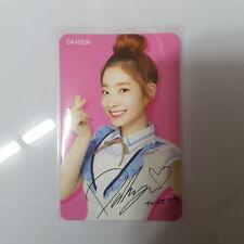 Twice Skoolooks Ver.1  DAHYUN DA-HYUN Official Photo Card Photocard K-POP
