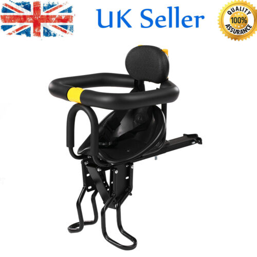 Child Seat Bike Bicycle Front Seat Chair Carrier Sport Seats Safety Stables S9Q6