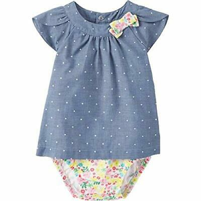 First Moments Floral Green Creeper Romper 6 or 9 months New