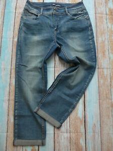 Arizona-Jeans-Pants-Blue-Ladies-Size-42-plus-Size-709