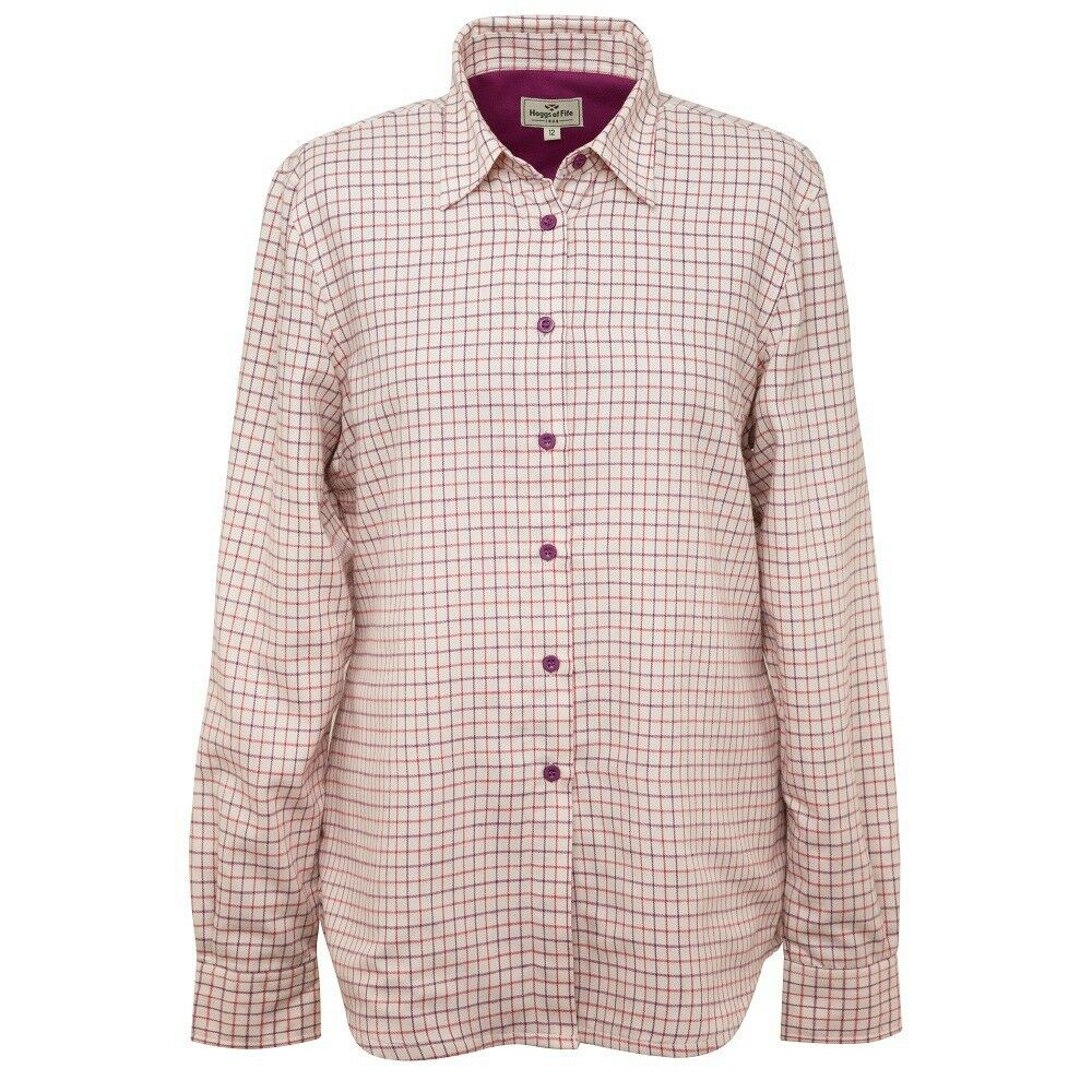 Hoggs Of Fife Alba Ladies Jersey Lined Shirt