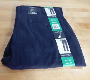 NWT-Men-039-s-Nautica-Straight-Leg-Classic-Fit-Stretch-Twill-Chino-Pants-Variety